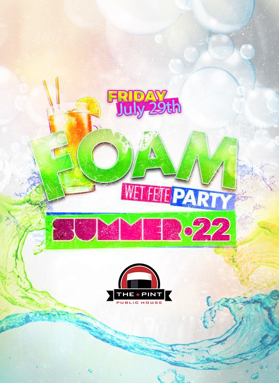 Foam Wet Fete Party