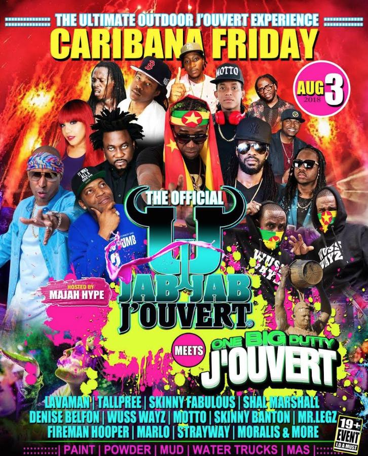 J'ouvert - Caribana Info & Tickets