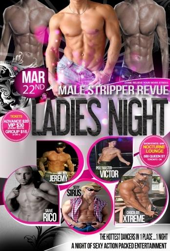 stripper girls night