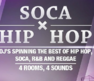 Soca x HipHop is the unpretentious Caribana party focused on music and good vibes!