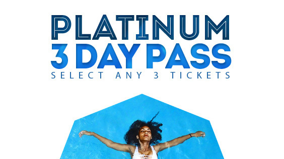 3 Day Platinum Pass